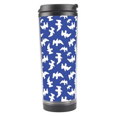 Birds Silhouette Pattern Travel Tumbler by dflcprintsclothing