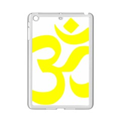 Hindu Om Symbol (maze Yellow) Ipad Mini 2 Enamel Coated Cases by abbeyz71