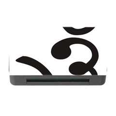 Bengali Om Symbol Memory Card Reader With Cf by abbeyz71