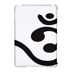 Bengali Om Symbol Apple Ipad Mini Hardshell Case (compatible With Smart Cover) by abbeyz71