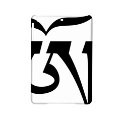 Tibetan Om Symbol (black) Ipad Mini 2 Hardshell Cases by abbeyz71
