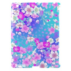 Flowers Cute Pattern Apple Ipad 3/4 Hardshell Case (compatible With Smart Cover) by Nexatart