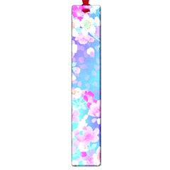 Flowers Cute Pattern Large Book Marks by Nexatart