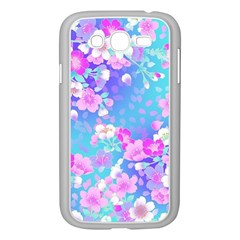 Flowers Cute Pattern Samsung Galaxy Grand Duos I9082 Case (white) by Nexatart
