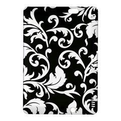 Black And White Floral Patterns Kindle Fire Hdx 8 9  Hardshell Case by Nexatart