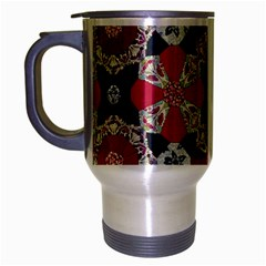 Beautiful Art Pattern Travel Mug (silver Gray) by Nexatart