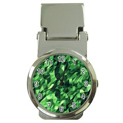 Green Attack Money Clip Watches by Nexatart