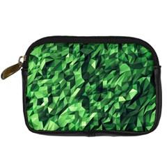 Green Attack Digital Camera Cases by Nexatart