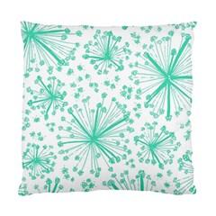 Pattern Floralgreen Standard Cushion Case (one Side) by Nexatart