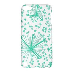 Pattern Floralgreen Apple Ipod Touch 5 Hardshell Case by Nexatart