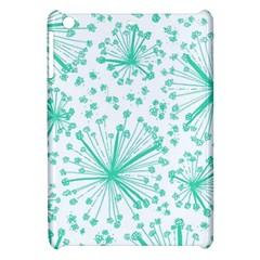 Pattern Floralgreen Apple Ipad Mini Hardshell Case by Nexatart