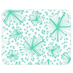 Pattern Floralgreen Double Sided Flano Blanket (medium)  by Nexatart