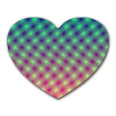 Art Patterns Heart Mousepads by Nexatart