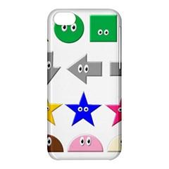 Cute Symbol Apple Iphone 5c Hardshell Case by Nexatart