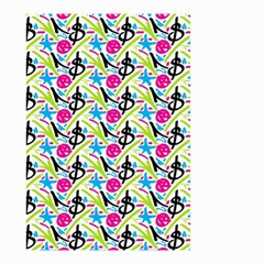 Cool Graffiti Patterns  Small Garden Flag (two Sides)