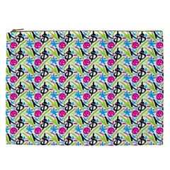 Cool Graffiti Patterns  Cosmetic Bag (xxl)  by Nexatart