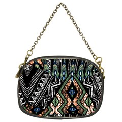 Ethnic Art Pattern Chain Purses (two Sides)  by Nexatart