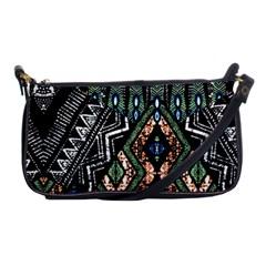 Ethnic Art Pattern Shoulder Clutch Bags by Nexatart