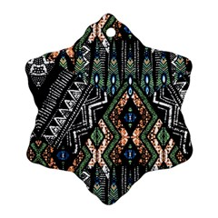 Ethnic Art Pattern Ornament (snowflake) by Nexatart