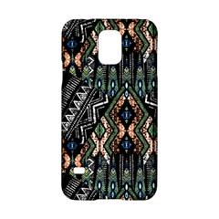 Ethnic Art Pattern Samsung Galaxy S5 Hardshell Case  by Nexatart