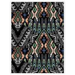 Ethnic Art Pattern Drawstring Bag (large) by Nexatart