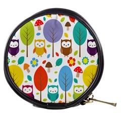 Cute Owl Mini Makeup Bags by Nexatart