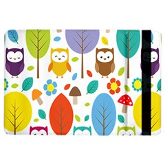 Cute Owl Ipad Air 2 Flip by Nexatart