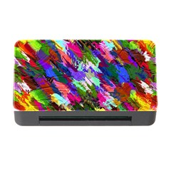 Tropical Jungle Print And Color Trends Memory Card Reader With Cf by Nexatart