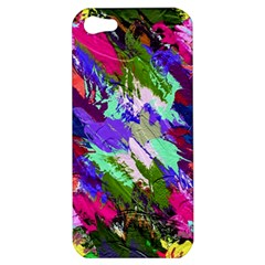 Tropical Jungle Print And Color Trends Apple Iphone 5 Hardshell Case by Nexatart