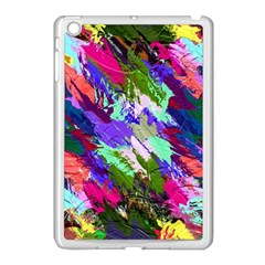 Tropical Jungle Print And Color Trends Apple Ipad Mini Case (white) by Nexatart