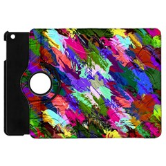 Tropical Jungle Print And Color Trends Apple Ipad Mini Flip 360 Case by Nexatart