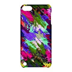 Tropical Jungle Print And Color Trends Apple Ipod Touch 5 Hardshell Case With Stand by Nexatart