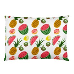 Fruits Pattern Pillow Case (two Sides) by Nexatart