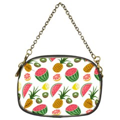 Fruits Pattern Chain Purses (one Side)  by Nexatart