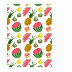 Fruits Pattern Large Garden Flag (two Sides) by Nexatart