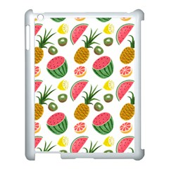 Fruits Pattern Apple Ipad 3/4 Case (white) by Nexatart