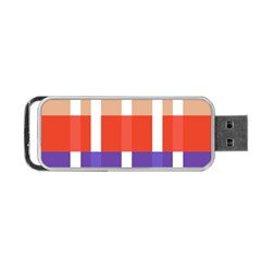 Compound Grid Portable Usb Flash (two Sides) by Nexatart