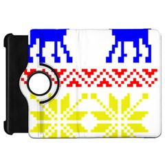 Jacquard With Elks Kindle Fire Hd 7  by Nexatart