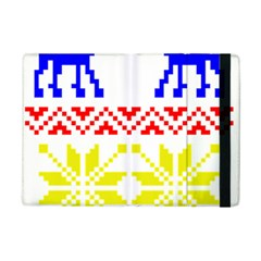 Jacquard With Elks Ipad Mini 2 Flip Cases by Nexatart