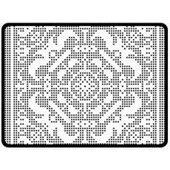Mosaic Pattern Cyberscooty Museum Pattern Fleece Blanket (large)  by Nexatart