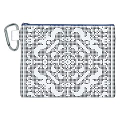 Mosaic Pattern Cyberscooty Museum Pattern Canvas Cosmetic Bag (xxl) by Nexatart
