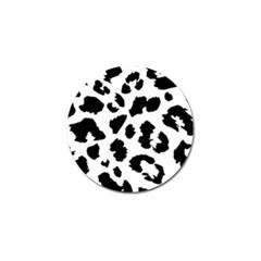 Leopard Skin Golf Ball Marker (10 Pack) by Nexatart