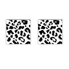 Leopard Skin Cufflinks (square)