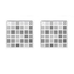 Retro Patterns Cufflinks (square) by Nexatart