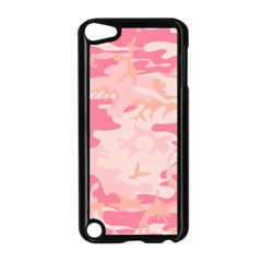 Pink Camo Print Apple Ipod Touch 5 Case (black) by Nexatart