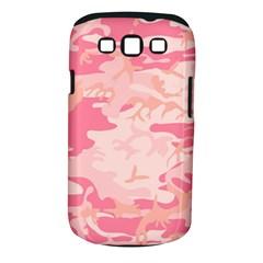 Pink Camo Print Samsung Galaxy S Iii Classic Hardshell Case (pc+silicone) by Nexatart