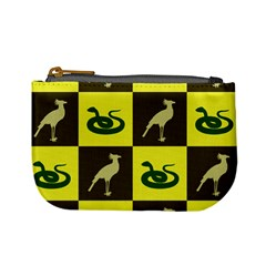 Bird And Snake Pattern Mini Coin Purses
