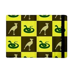 Bird And Snake Pattern Apple Ipad Mini Flip Case by Nexatart