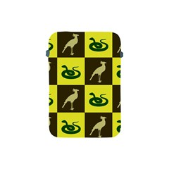 Bird And Snake Pattern Apple Ipad Mini Protective Soft Cases by Nexatart