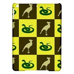 Bird And Snake Pattern Ipad Air Hardshell Cases by Nexatart